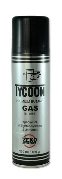 TYCOON PREMIUM Feuerzeug Butangas 250ml Picture