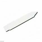Kunststoff-Stecketiketten, 12 x 1,7 cm, weiß, 12 Stk. Picture