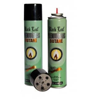 Black Leaf Premium Butane Gas Picture